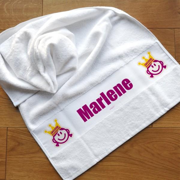 Handtuch für große und kleine Schwestern