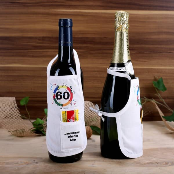 Flaschenschürze: 60 - verdammt scharfes Alter
