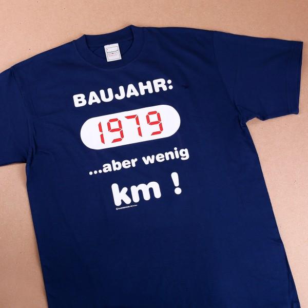 T-Shirt: Baujahr 1979