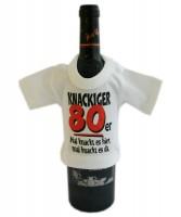 Mini-Shirt für Flaschen Knackiger 80er
