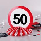 Wabenaufsteller zum 50. Geburtstag