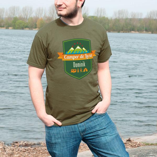 Camper de Luxe Herren T Shirt mit Name