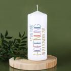 Ein Funke Hoffnung - Kerze