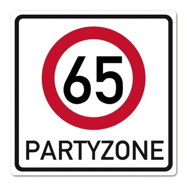 Banner zum 65. Geburtstag