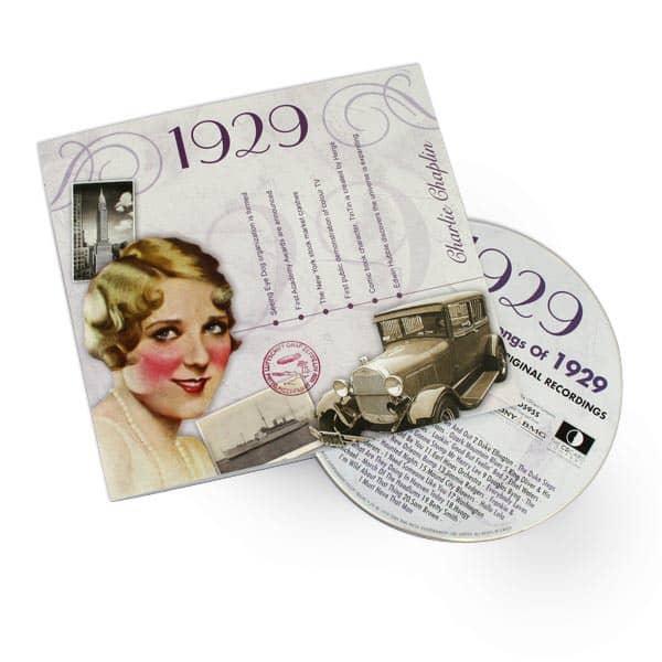 Chart Hits aus dem Jahr 1929