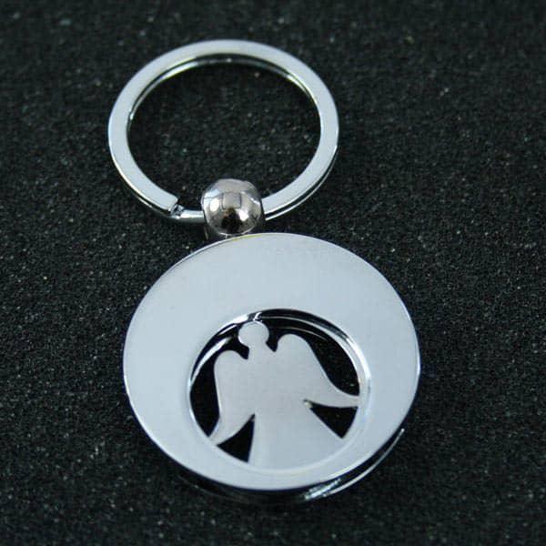 Schlüsselanhänger mit Schutzengel