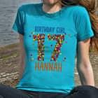 T-Shirt zum 17. Geburtstag für Mädels