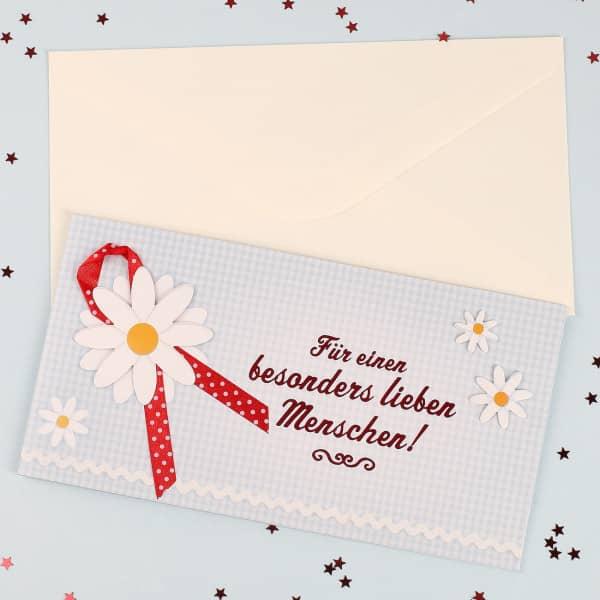 Geschenkkarte für einen besonders lieben Menschen