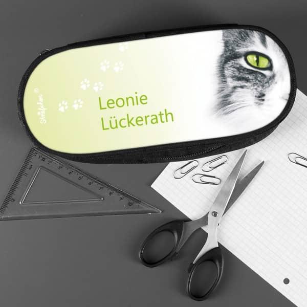 Stiftebox mit tollem Katzenmotiv