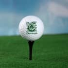 3er Set personalisierte Golfbälle mit Wunschname und Initial