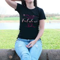 Geburtstags T-Shirt für Damen - Fabulous since...