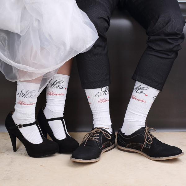 Mr und Mrs Socken im Set