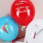 6 Luftballons - Hurra, ich bin ein Schulkind