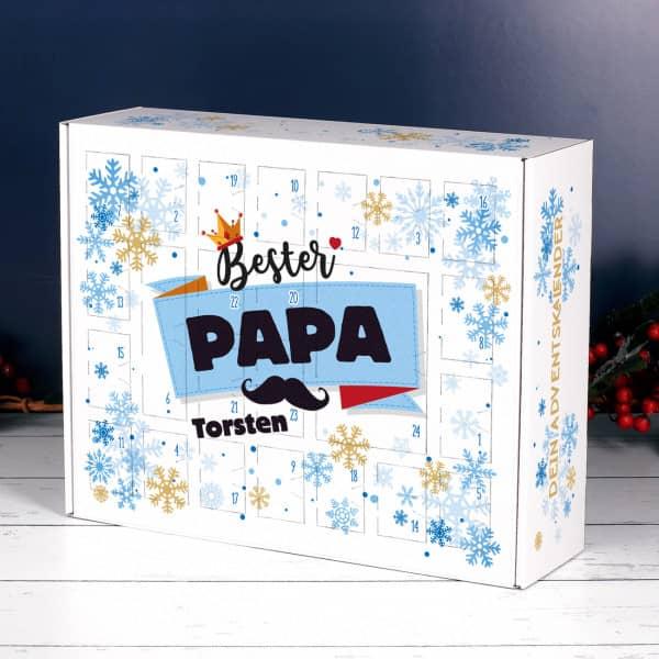 Bester Papa - Adventskalender mit Name DIY