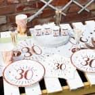 Dekorationsset zum 30. Geburtstag