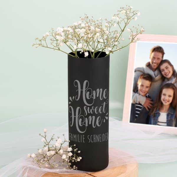 Moderne Vase - Home sweet Home