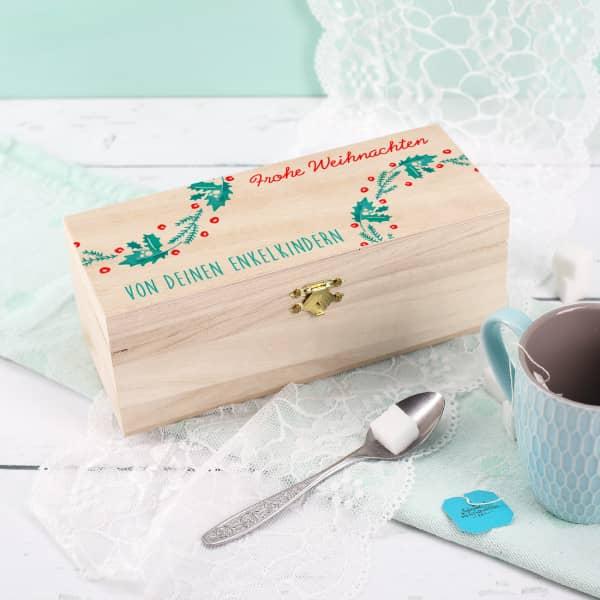 Kleine Teebox zu Weihnachten