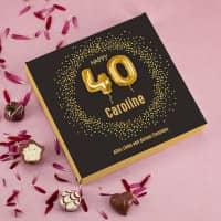 Happy 40 - Lindt Pralinen zum 40. Geburtstag, 100g