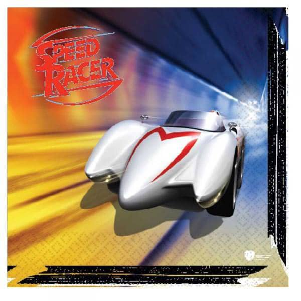 16 Servietten Speed Racer