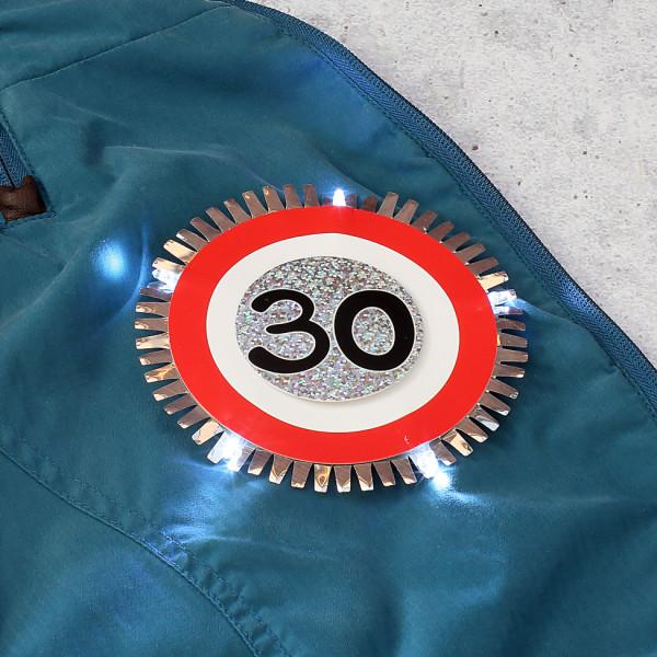 LED- Blink-Button zum Geburtstag
