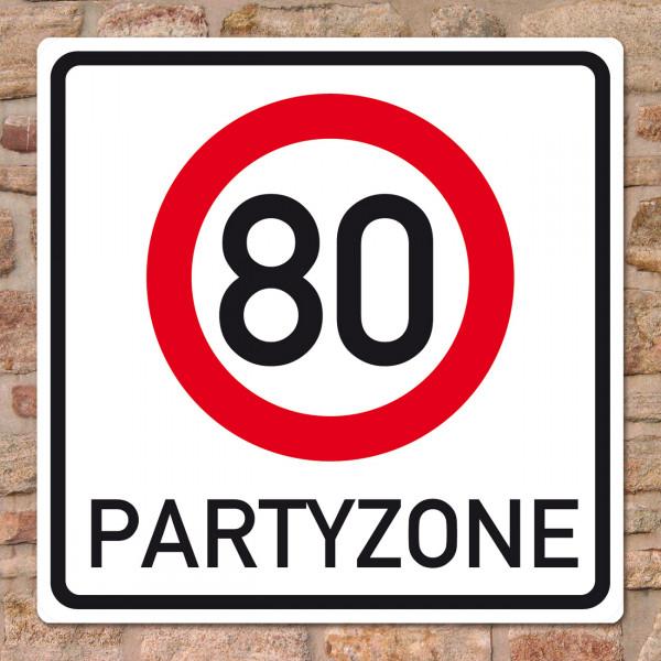 Banner zum 80. Geburtstag