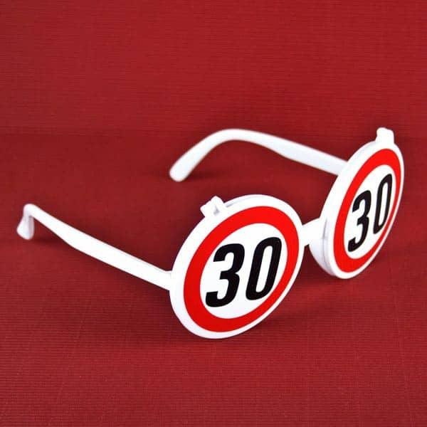 Scherzsonnenbille zum 30. Geburtstag