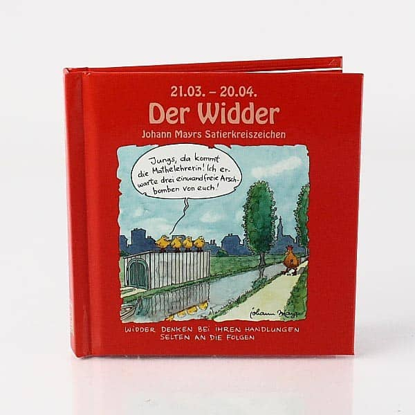 Mini Buch Widder