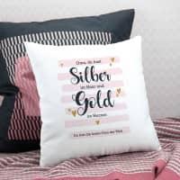 Kissen für die Oma - Du hast Gold im Herzen