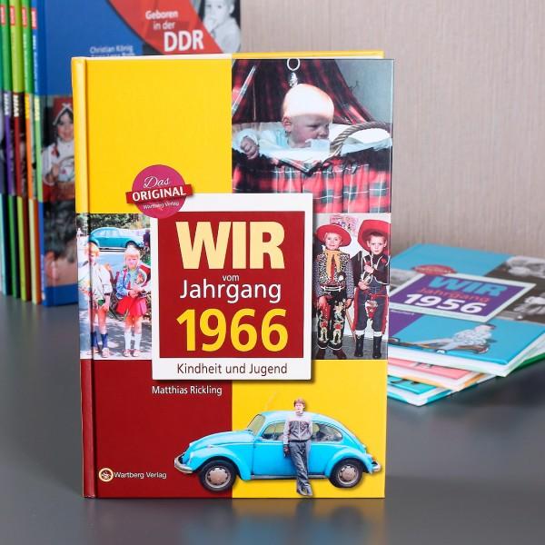 Jahrgangsbuch 1966 Kindheit und Jugend