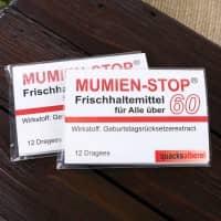 Kaugummi - Mumienstop zum 60. Geburtstag