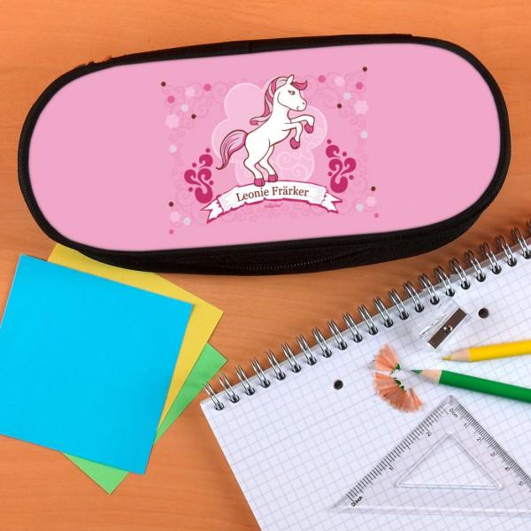 Stiftebox mit pinken Pony
