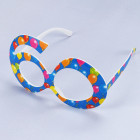 Blaue Party Brille - 60
