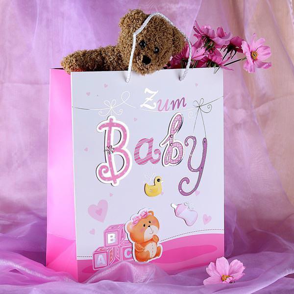 Geschenktüte - zum Baby