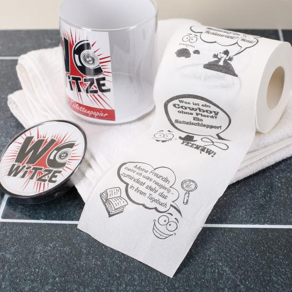 Toilettenpapier WC Witze