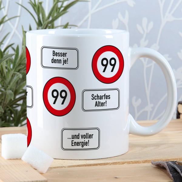 Kaffeepot zum 99. Geburtstag