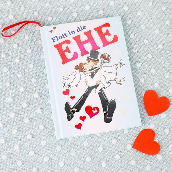 Flott in die Ehe - Buch