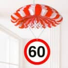 Deko-Fallschirm zum 60. Geburtstag