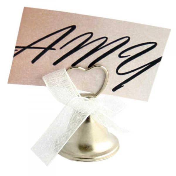 Platzkartenhalter *Glocke* zur Hochzeit
