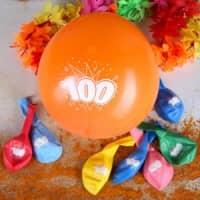 8 Luftballons zum 100. Geburtstag