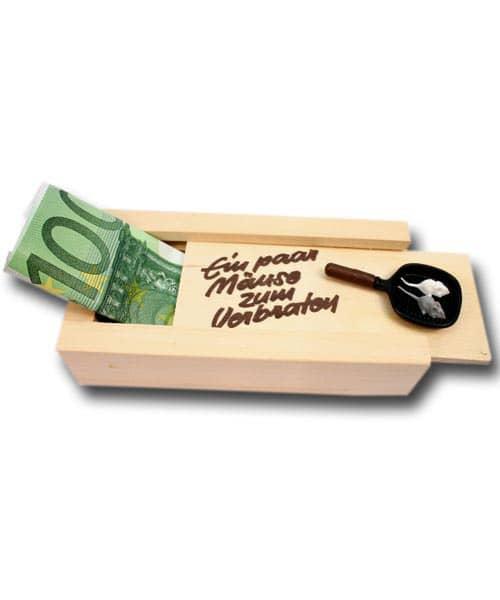 Geldkiste - Ein paar Mäuse zum Verbraten