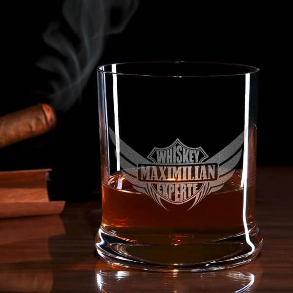 Whiskey-Experte Whiskyglas mit Gravur