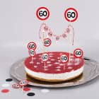 Torten-Deko Set zum 60. Geburtstag