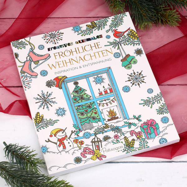 Kreatives Ausmalbuch zu Weihnachten