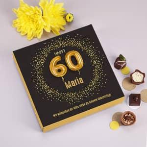 Lindt Pralinen zum 60. Geburtstag