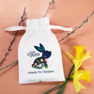 Geschenksack zu Ostern mit Text