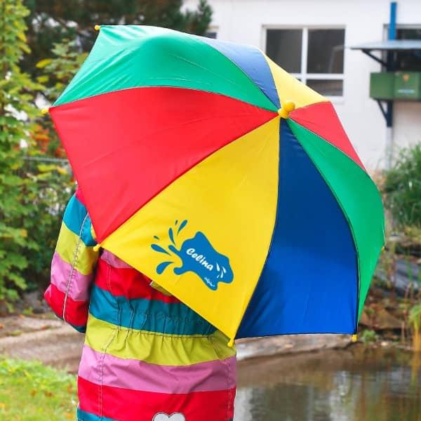 Regenschirm für Kinder mit persönlichem Aufdruck