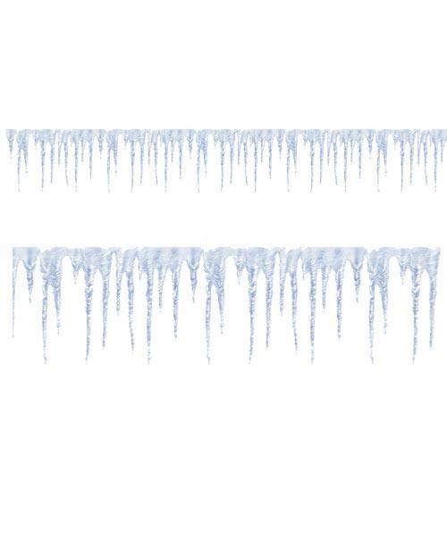 Bordüre Eiszapfen