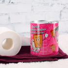 Notfall Toilettenpapier in der Dose für alte Schachteln