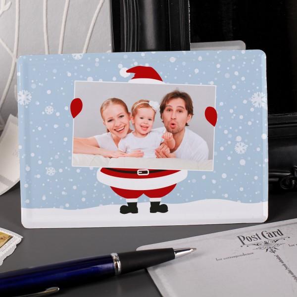 Blechpostkarte zu Weihnachten mit Ihrem Lieblingsfoto