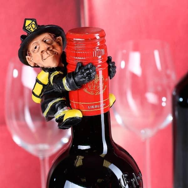 Flaschenaufsatz für Feuerwehrleute